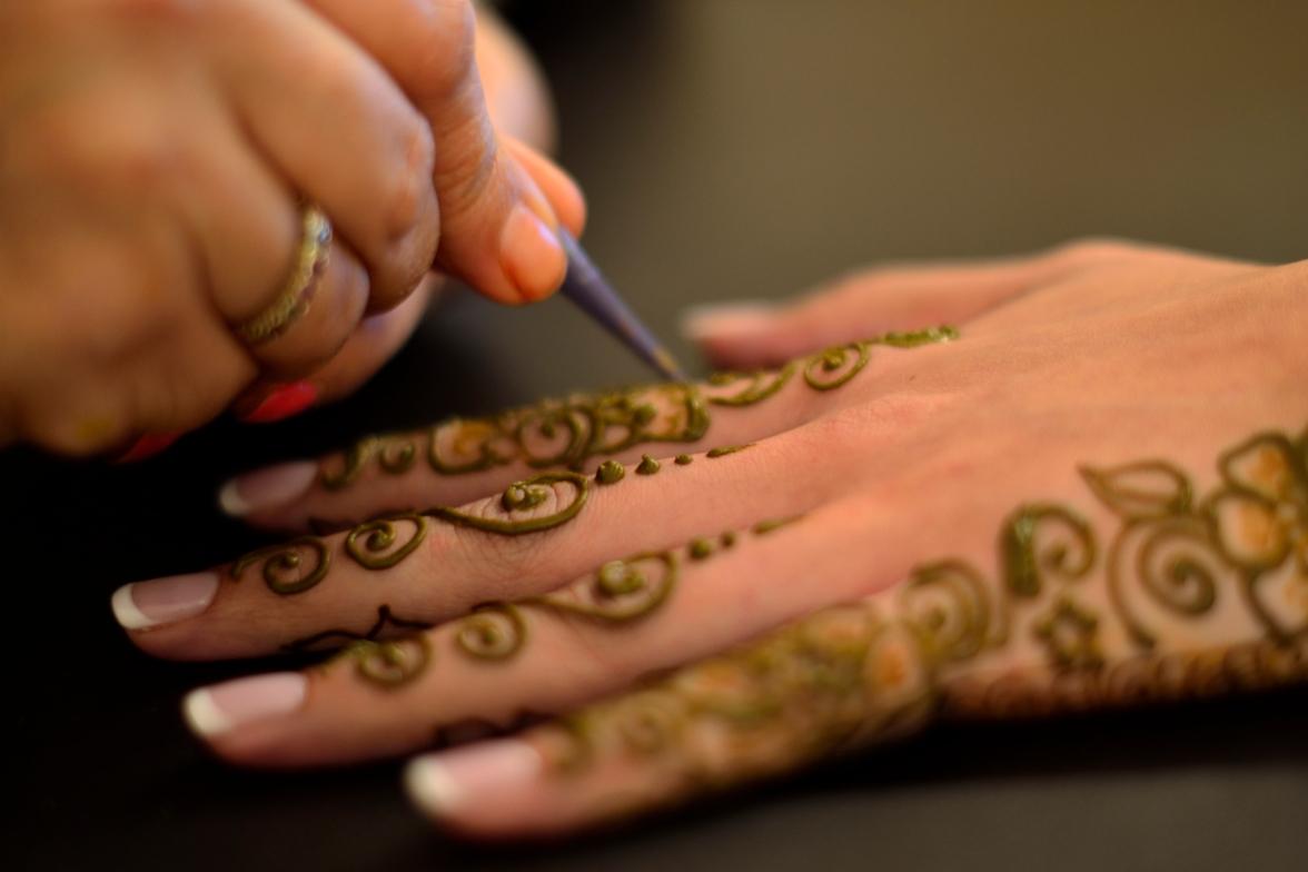 Bridal mendhi/henna