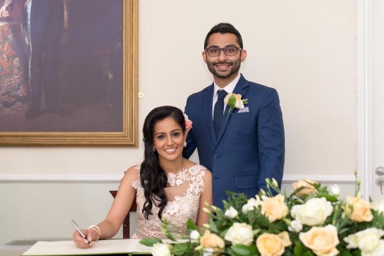 Simran & Jay's Civil Ceremony - introducing Mr. & Mrs. Khemani!