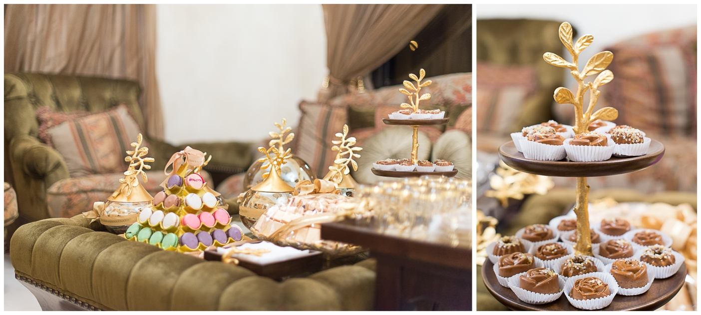 Sweet treats for the guests