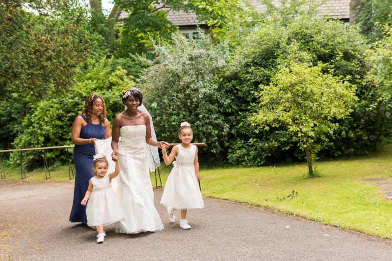 Bridesmaid & flower girls