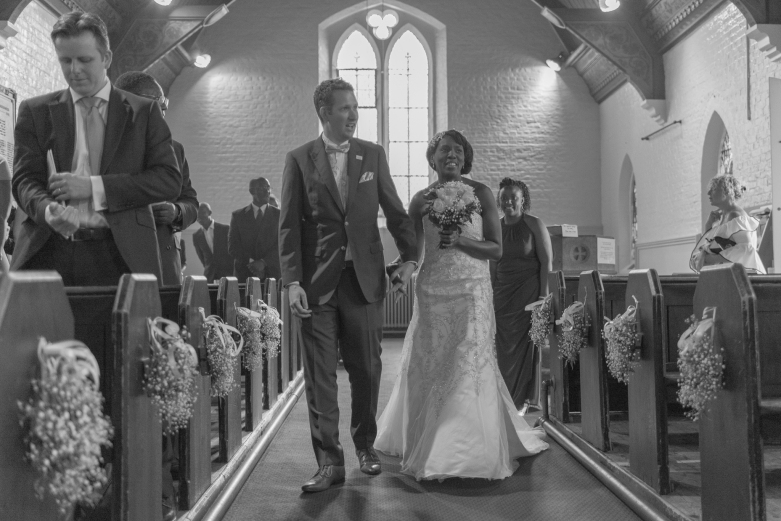 Walking down the aisle