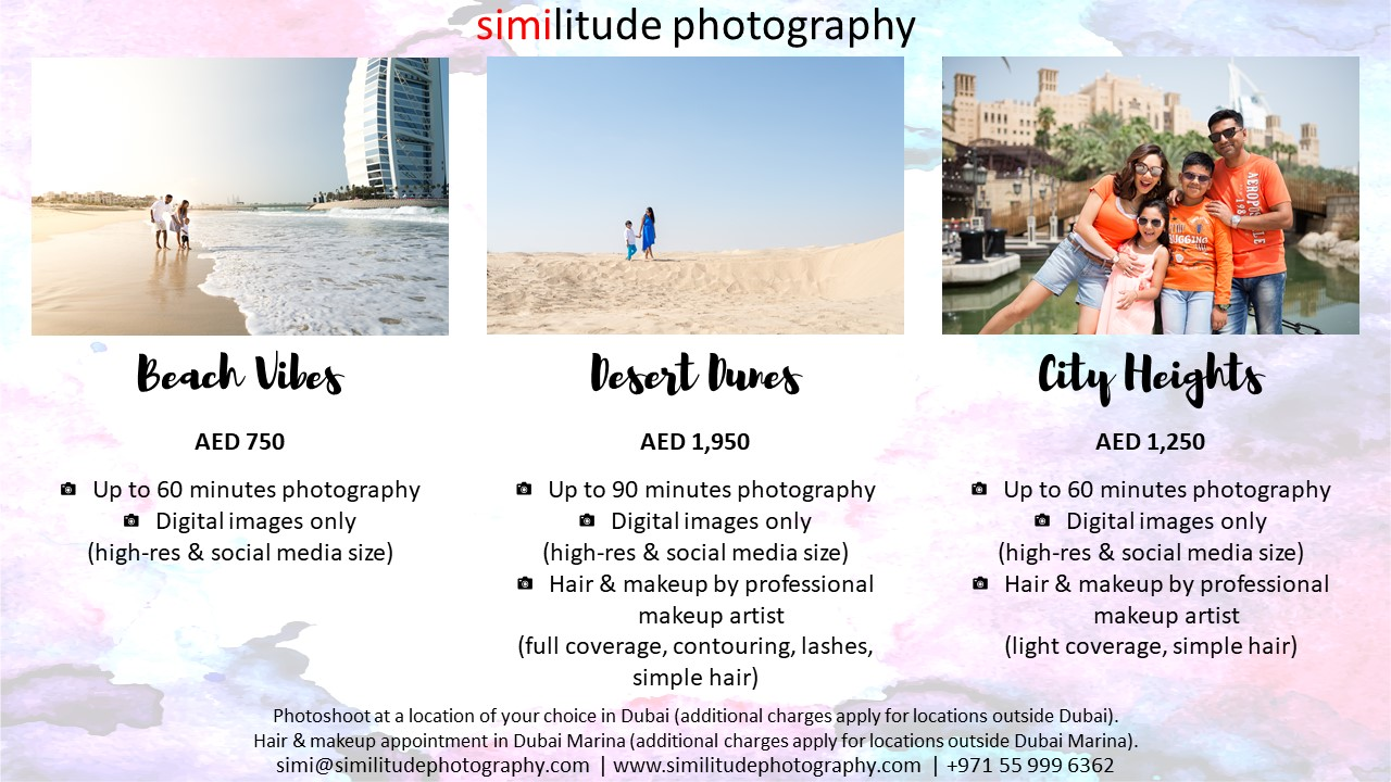 Family Shoot Packages